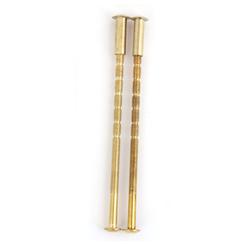 Стяжка винтовая Апекс SCR-M6-120(20)-G золото