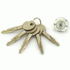 Цилиндровый механизм ЗН067/ЗН050 крестовой ключ