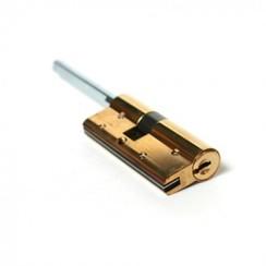 Цилиндровый механизм Cisa (Чиза) RS3 S OL3S1.20.0.66CL (90 мм/25+10+55), ЛАТУНЬ, (пласт.гол.ключа)