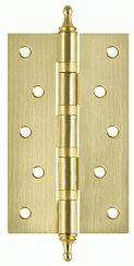 Петля универсальная FUARO 4BB/A/BL 125x75x2,5 SB (мат. золото) БЛИСТЕР