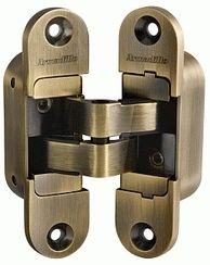 Петля скрытой установки ARMADILLO с 3D-регулировкой Architect 3D-ACH 60 AB Бронза прав. 60 кг