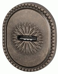Декоративная накладка ARMADILLO на сувальдный замок PS-DEC CL (ATC Protector 1) AS-9 Античное серебро