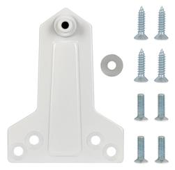 Монтажная пластина Fuaro (Фуаро) DC/MP-WH (белая) для параллельной установки доводчика