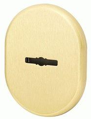 Декоративная накладка ARMADILLO на сувальдный замок со шторкой PS-DEC CT (ATC Protector 1) SG-1 Матовое золото