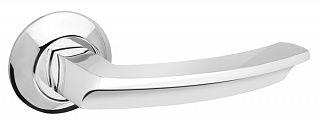 Ручка раздельная FUARO ALFA AR CP-8 хром, квадрат 8x130 мм, стяжки M4(10*50*50)