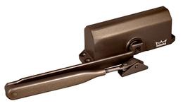 Доводчик дверной Dorma (Дорма) DORMA TS 77 EN4, с рычажной тягой, коричневый