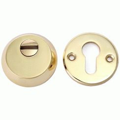 Броненакладка Аллюр для ц/м  Н-03 PVD латунь 60-80мм