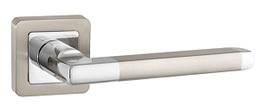 Ручка раздельная Punto (Пунто) PLUTON QR SN/CP-3 матовый никель/хром