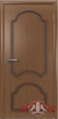 Шпонированная межкомнатная дверь Кристалл глухая