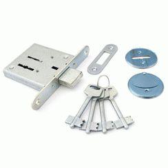 Замок врезной Самара без ручки  ЗВ 8-4 4 ключа