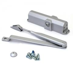 DORMA Доводчик дверной TS Compaktl EN2/3/4 до 120 кг. c рычагом серый