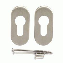 Накладка для ц/м  DP-С-09- INOX нержавеющая сталь  д/укопроф.замков