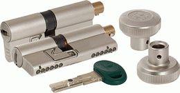 Цилиндровый механизм MOTTURA с вертушкой C31F364601RC5 (82 мм/31+10+41), МАТ.НИКЕЛЬ (верт. 99.506)