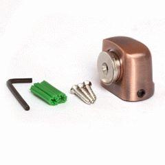 Ограничитель дверной Апекс магнитный DS-2751-М-AC медь