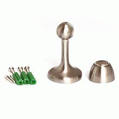Ограничитель дверной Апекс магнитный DS-2761-М-NIS(S) мат.хром