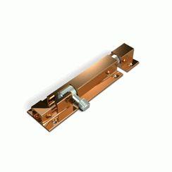 Шпингалет накладной Апекс DB-05-100-AB бронза (500-100-AB)