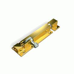 Шпингалет накладной Апекс DB-05-100-G золото (500-100-G)