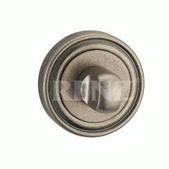 Сантехническая завертка к ручкам  BK 16 SL серебро ант.