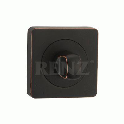 Сантехническая завертка к ручкам  BK 02 ABB черн.бронза с патиной