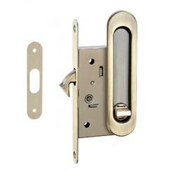 Ручки с замком для раздвижных дверей TIXX бронза ант. SDH-BK 501 AB