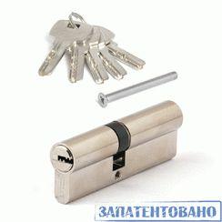 Цилиндровый механизм Апекс SC-M-90(50/40)-Z-Ni перф. кл/кл никель