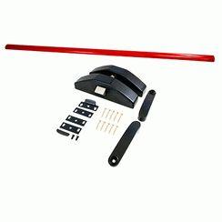 Ручка-штанга с защелкой для накладного замка Апекс РВ-1700-B-Panic-BL/Red