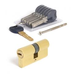 Цилиндровый механизм Апекс Premier CD-62-G золото кл/кл 6кл+ 1 монтаж.+ 1 перекод.