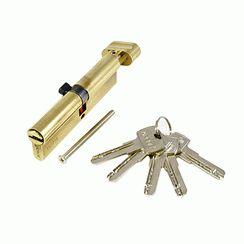 Цилиндровый механизм Апекс SC-M-110-Z-C-G перф. кл/верт. золото