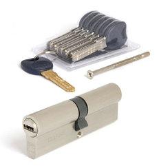 Цилиндровый механизм Апекс Premier CD-74-Ni никель кл/кл 6кл+ 1 монтаж.+ 1 перекод.