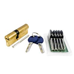 Цилиндровый механизм Сазар МЦК 85-5П (32,5/52,5)-(5+2) GP латунь арт.526
