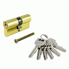 Цилиндровый механизм Стандарт A 70 BP 6кл золото англ.ключ/ключ