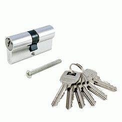 Цилиндровый механизм Стандарт A 70 CP 6кл хром англ.ключ/ключ