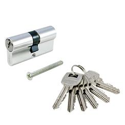 Цилиндровый механизм Стандарт A 80(30х10х40) CP 6кл англ.ключ/ключ