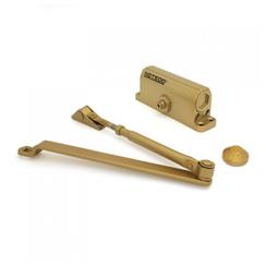 Доводчик дверной NOTEDO DC-080 GOLD 60-100 кг золото