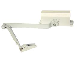 Доводчик дверной Сазар D01-050 до 50 кг белый