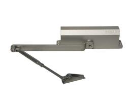Доводчик дверной Сазар D01-050 до 50 кг серебро