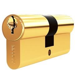 Механизм цилиндровый Soller F3 60мм золото 3кл. латунь/металл