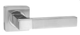 Комплект ручек RENZ DH 51-02 SC/CP Милан мат.хром/хром.блест.