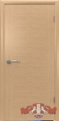 Шпонированная межкомнатная дверь Рондо глухая