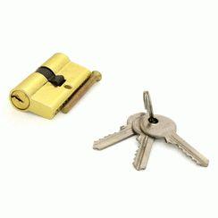 Цилиндровый механизм Стандарт A 60 BP 3 ключа  английский ключ/ключ
