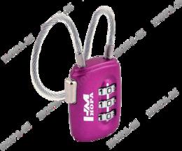 Замок навесной кодовый Нора-М 506 фиолетовый