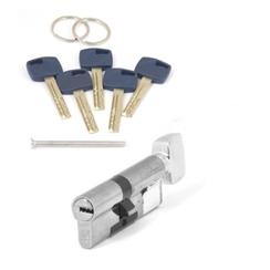 Цилиндровый механизм Апекс Premier XR-80 (35C/45)-C15-NI никель кл/верт. перфо