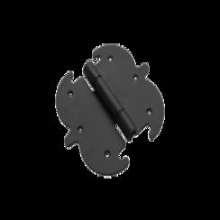 Петля фигурная Домарт 130*140 черная