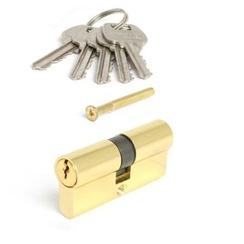Цилиндровый механизм AVERS LL-60-G золото англ. кл. 5кл.профиль 28,5мм