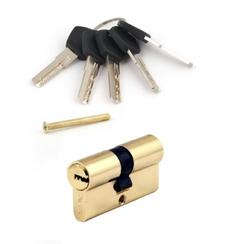Цилиндровый механизм AVERS AM-60-G золото перф. кл/кл 5кл.