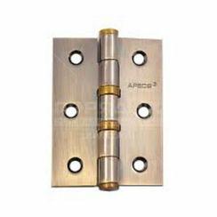 Петля дверная Апекс 80х60-B2-Steel-AB бронза 2 подшип.