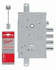 Замок врезной сувальдный Cisa NEW CAMBIO BASIC 57.665.48 (тех. упаковка), ключ 64 мм