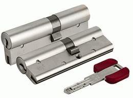 Цилиндровый механизм Cisa RS3 OL3S1-21.12 (90 мм/35+10+45), НИКЕЛЬ