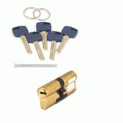Цилиндровый механизм Апекс Premier XR-80 (35/45)-G  золото кл/кл. перфо