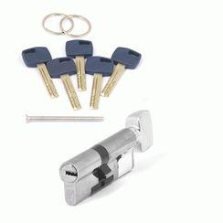 Цилиндровый механизм Апекс Premier XR-80 (35/45C)-C15-NI никель кл/верт. перфо